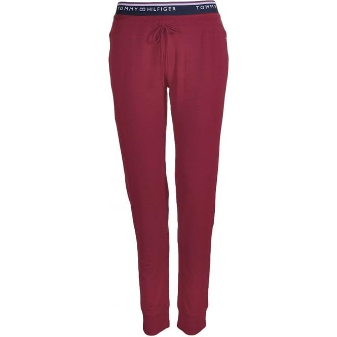 Tommy Hilfiger Women Fitness pant, Red