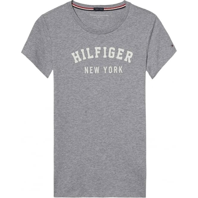 a3aab6c86 Tommy Hilfiger Womens Organic Cotton Short Sleeved Crew Neck T-Shirt ...