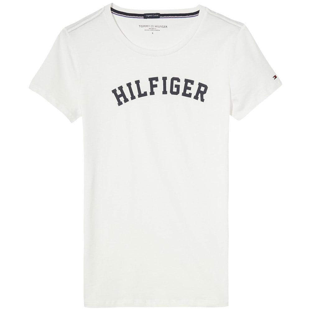 tommy hilfiger logo shirt womens