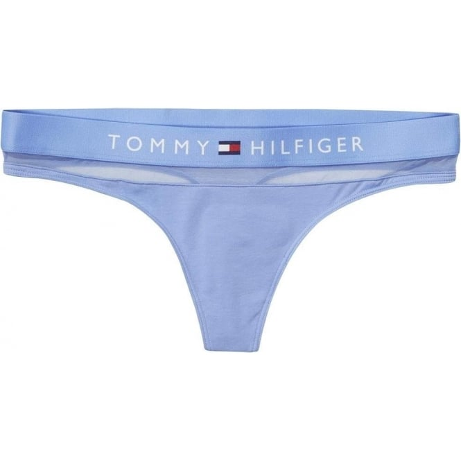 d1158b50eaa42 Tommy Hilfiger Womens Sheer Flex Cotton Thong