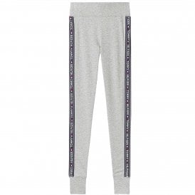 Side Logo Leggings, Grey