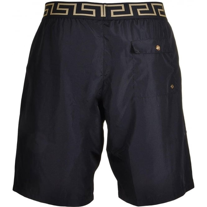 6ee13156e5 Versace Iconic Greca Medusa Swim Shorts, Black, Small